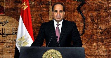 السيسي يستقبل خليفة حفتر بقصر الاتحادية1