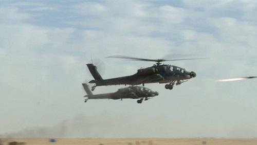 الجوية تنفذ 6 ضربات مركزة داخل ليبيا تستهدف تنظيمات ارهابية