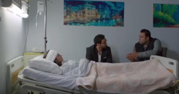 صورة بالفيديو .. مي عمر تتعرض لحادث في أول حلقات ريح المدام .. والسبب زوجها