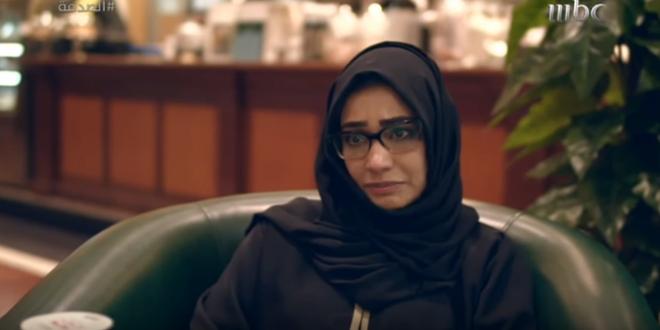 صورة بالفيديو .. انهيار ممثلة الصدمة بعد إهانة الأم