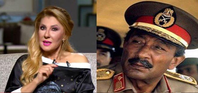 صورة بالفيديو .. نادية الجندي تكشف عن رأي السادات في فيلم الباطنية