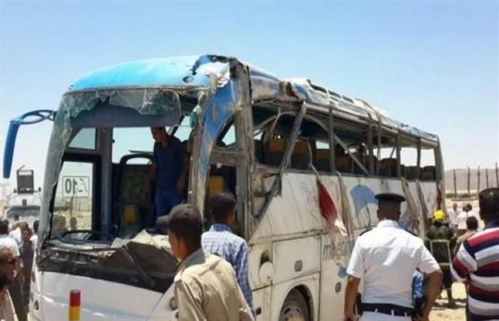 صورة بالفيديو .. محافظ المنيا : «منفذي الحادث طلبوا من الضحايا نطق الشهادة فرفضوا .. قتلوهم»