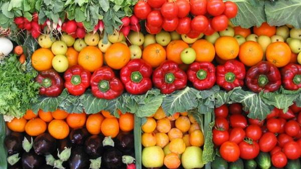 صورة أسعار الخضار والفاكهة بسوق العبور في نهاية الأسبوع