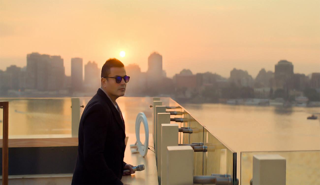 صورة رسالة شكر من عمرو دياب لجمهوره بعد حفلته الأخيرة