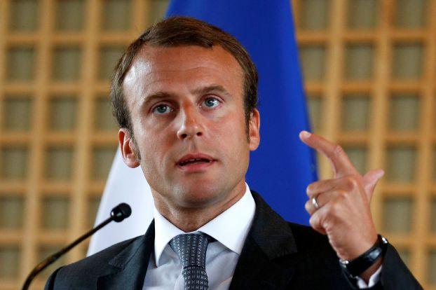 صورة فوز إيمانويل ماكرون برئاسة فرنسا