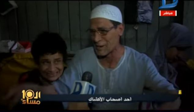صورة بالفيديو..مسن بعد إنذاره بإخلاء الكشك يبكي :«هعيش منين أموت ولادى عشان يرضيكم»
