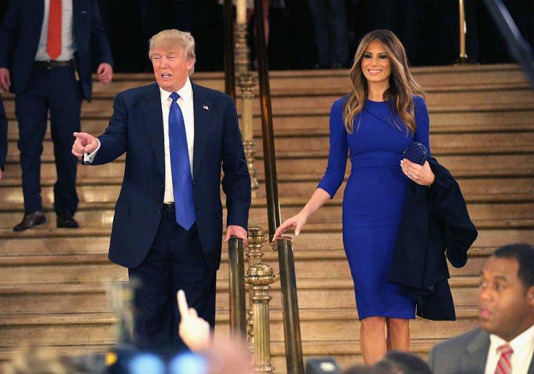 صورة ميلانيا ترامب تثير الحدل بـ «لايك»  على تغريدة سخرية من زوجها