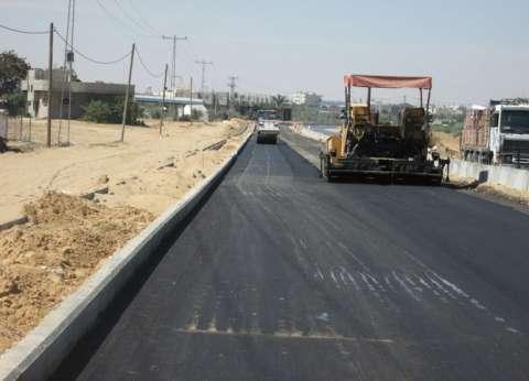 صورة نائب الحسينية  : رصف 23 طريق بمراكز المدينة قبل نهاية يونيو المقبل