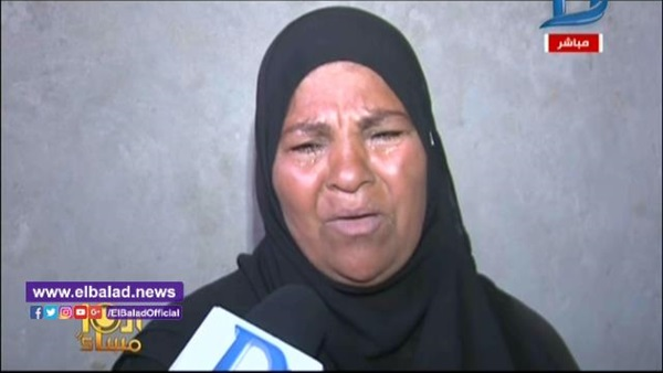 صورة بالفيديو.. والدة الطفل «مصطفى» ضحية الفنان أبوالليف: «كان بيصرف على البيت»
