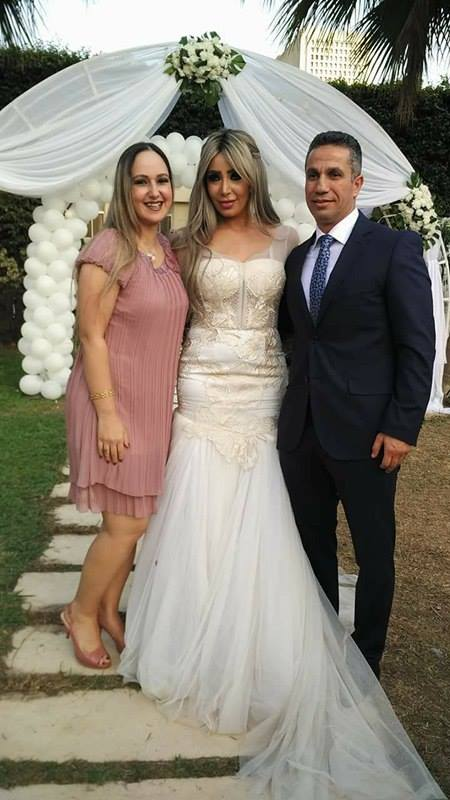 2الصور الأولى من زفاف المتحدث الاعلامي السابق على الاعلامية إيمان أبو طالب