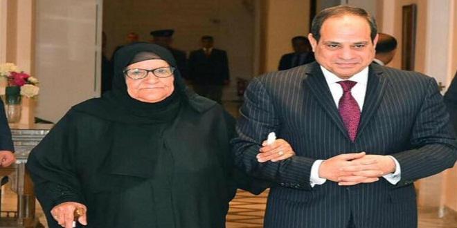 صورة تبرع جديد من الحاجة سبيلة لـ «تحيا مصر»