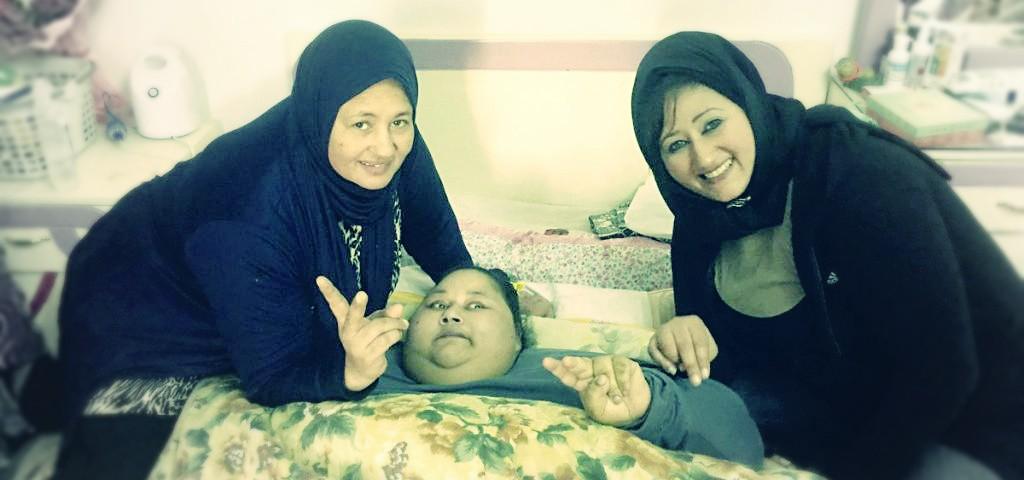 صورة تفاصيل جديدة في علاج أسمن إمراة بالعالم في أبو ظبي