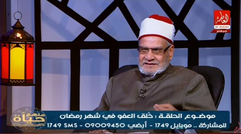 صورة بالفيديو ..تفاصيل رسالة أحمد كريمة لرامز جلال بشأن برنامجه