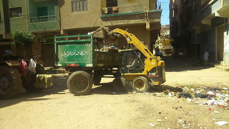 صورة استمرار حملات النظافة والتجميل بمدينة فاقوس