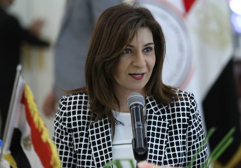 صورة وزيرة الهجرة: المصري المصاب بالأردن حالته خطيرة