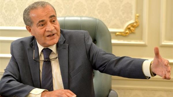 صورة وزير التموين: 2 مليون مواطن معهم بطاقات تموينية لا يستحقونها