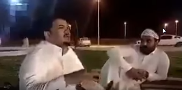 صورة القبض على الكفيل السعودي صاحب فيديو إهانة وضرب عامل مصري