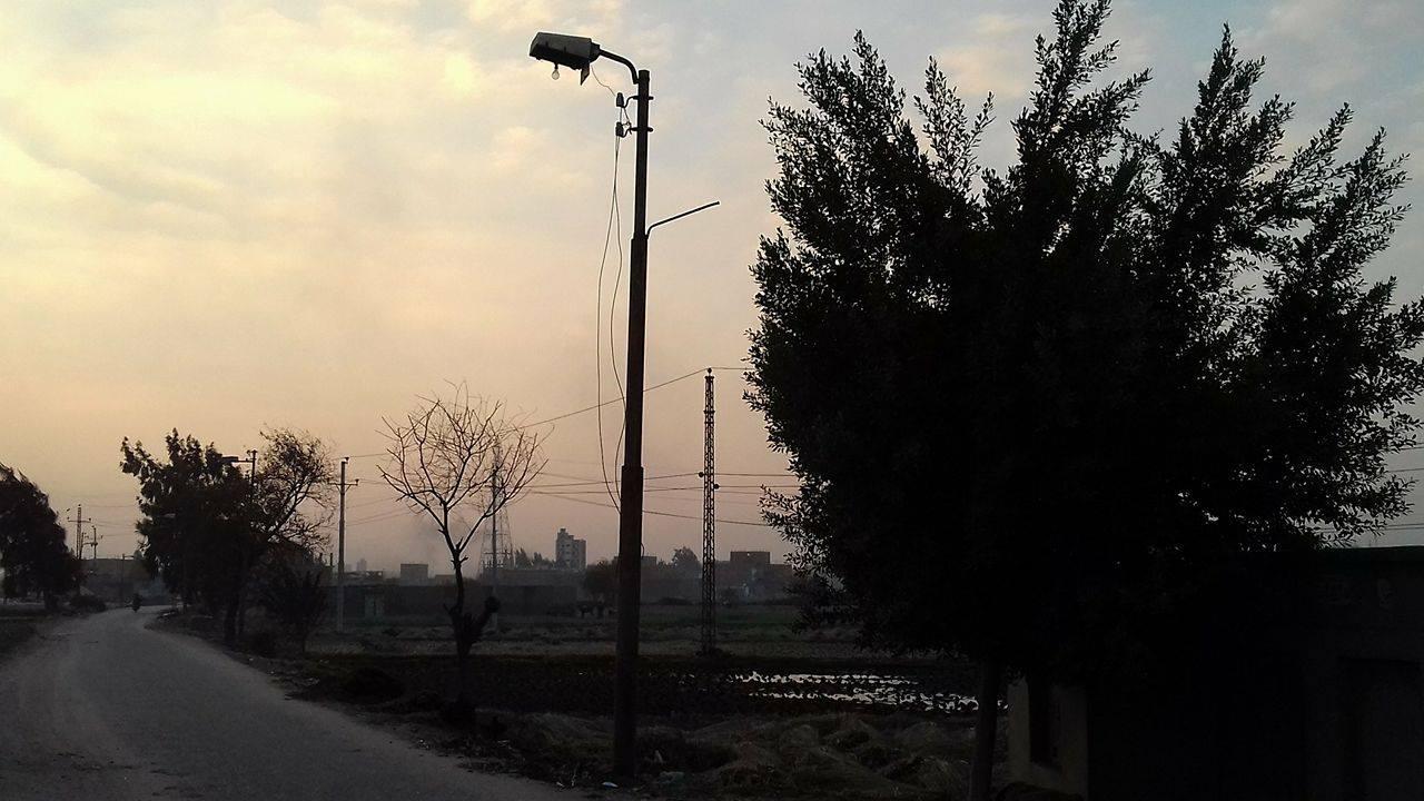 صورة قرية شوبك بالشرقية مأوى لتجار المخدرات ومشهد من فيلم رعب في الليل