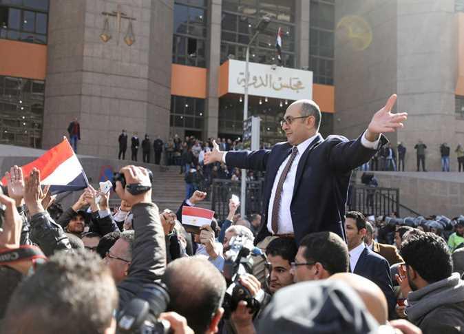 صورة خالد علي يعلن ترشحه لانتخابات الرئاسة