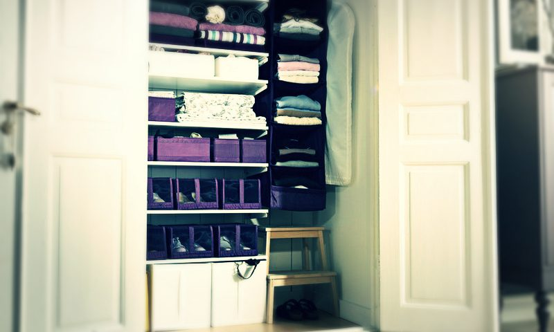 لتخزين الملابس الصيفي