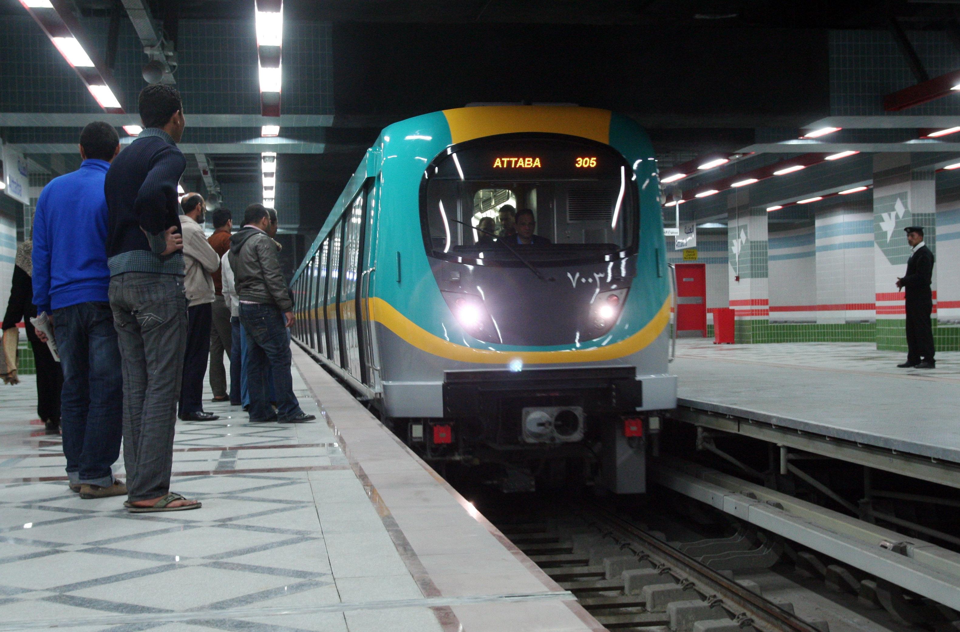 صورة وزارة النقل: زيادة سعر تذكرة مترو الأنفاق مازالت قيد الدراسة