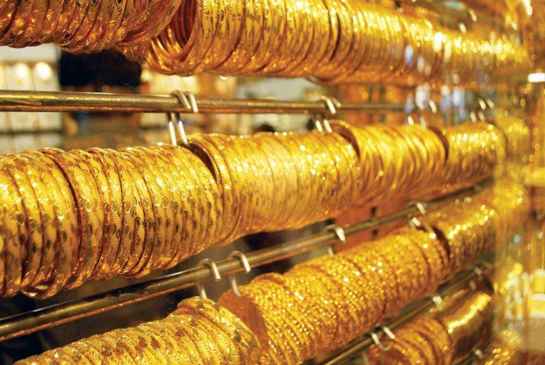 صورة الذهب يسجل أعلى مستوى فى أكثر من 4 أشهر