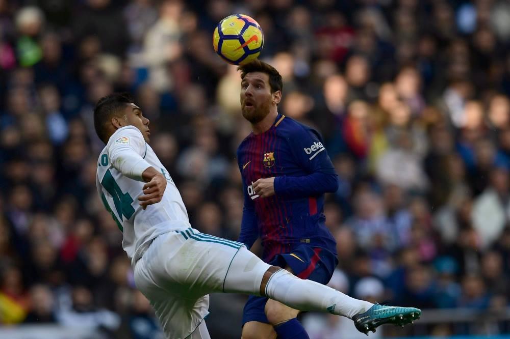 صورة أهداف برشلونة أمام ريال مدريد فى الكلاسيكو