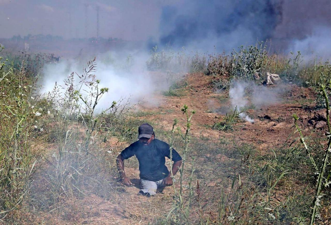 صورة إسرائيل ترتكب جريمة ضد الإنسانية وتقتل شاب فلسطيني مبتور القدمين