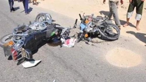 صورة حادث تصادم بأبوكبير يسفر عن إصابة 3 أشخاص