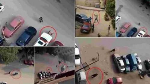 صورة لماذا لم تشتبك مدرعة الشرطة مع الإرهابي بحادث حلوان؟