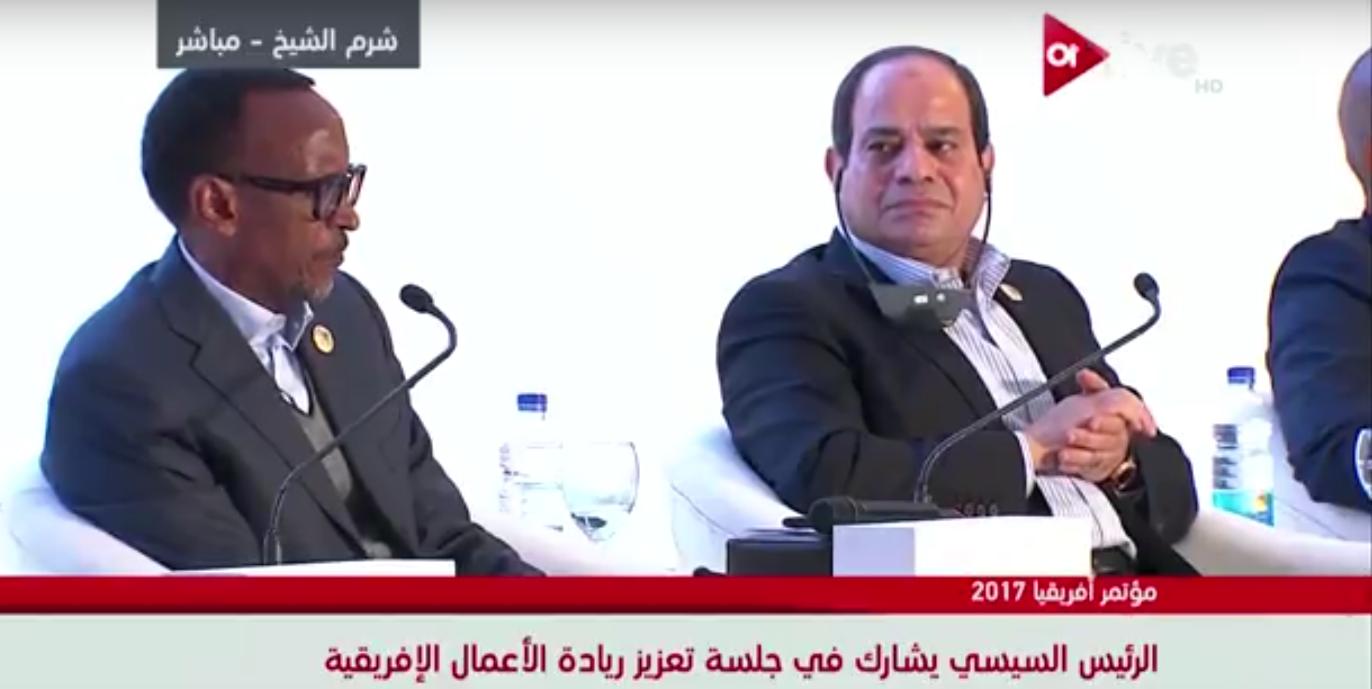 صورة السيسي: المصريين تحملوا الضغوط لتحسين الواقع الصعب