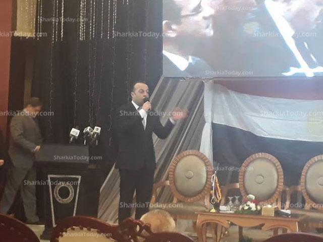 صورة النائب «خالد عبد المولي»: السيسي قضي علي مؤامرات تسعي إلي تدمير مصر