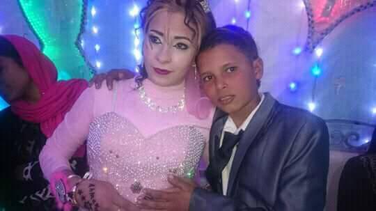 أصغر عروسين بالفيوم العريس 12 عام والعروس تكبره بـ4 سنوات 1