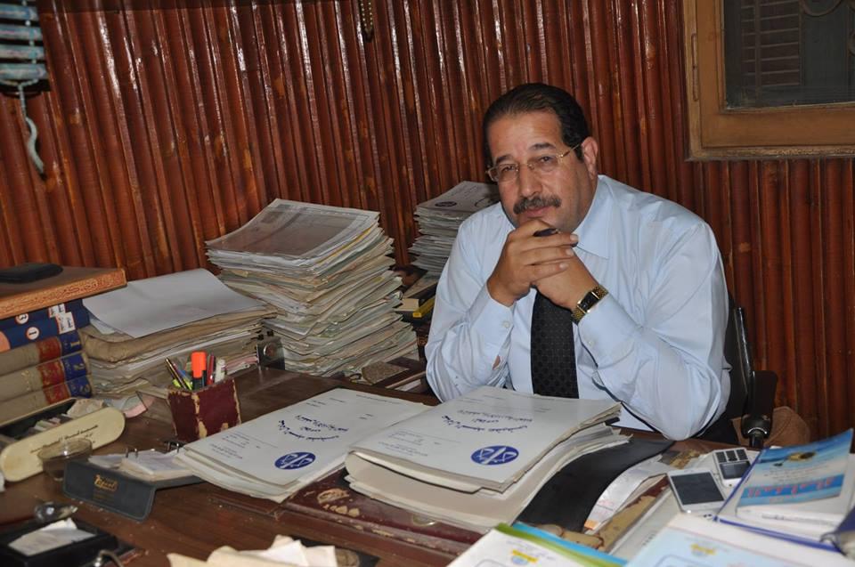 صورة عضو النقابة العامة للمحامين يعلن دعمه للسيسي لفترة رئاسية ثانية