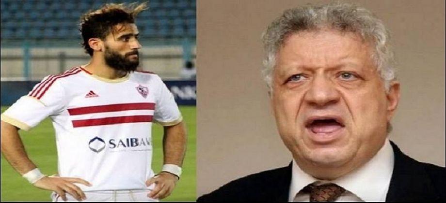 صورة مشادة كلامية بين باسم مرسي ومرتضى منصور