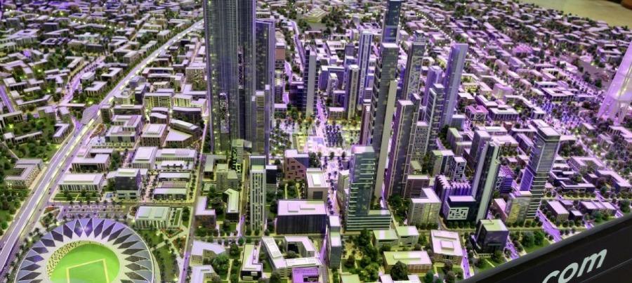 صورة اسناد تصميمات أبراج العاصمة الإدارية لمكتب دار الهندسة