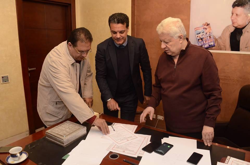 صورة أول صدام بين إيهاب جلال ومرتضى منصور.. تعرف على السبب