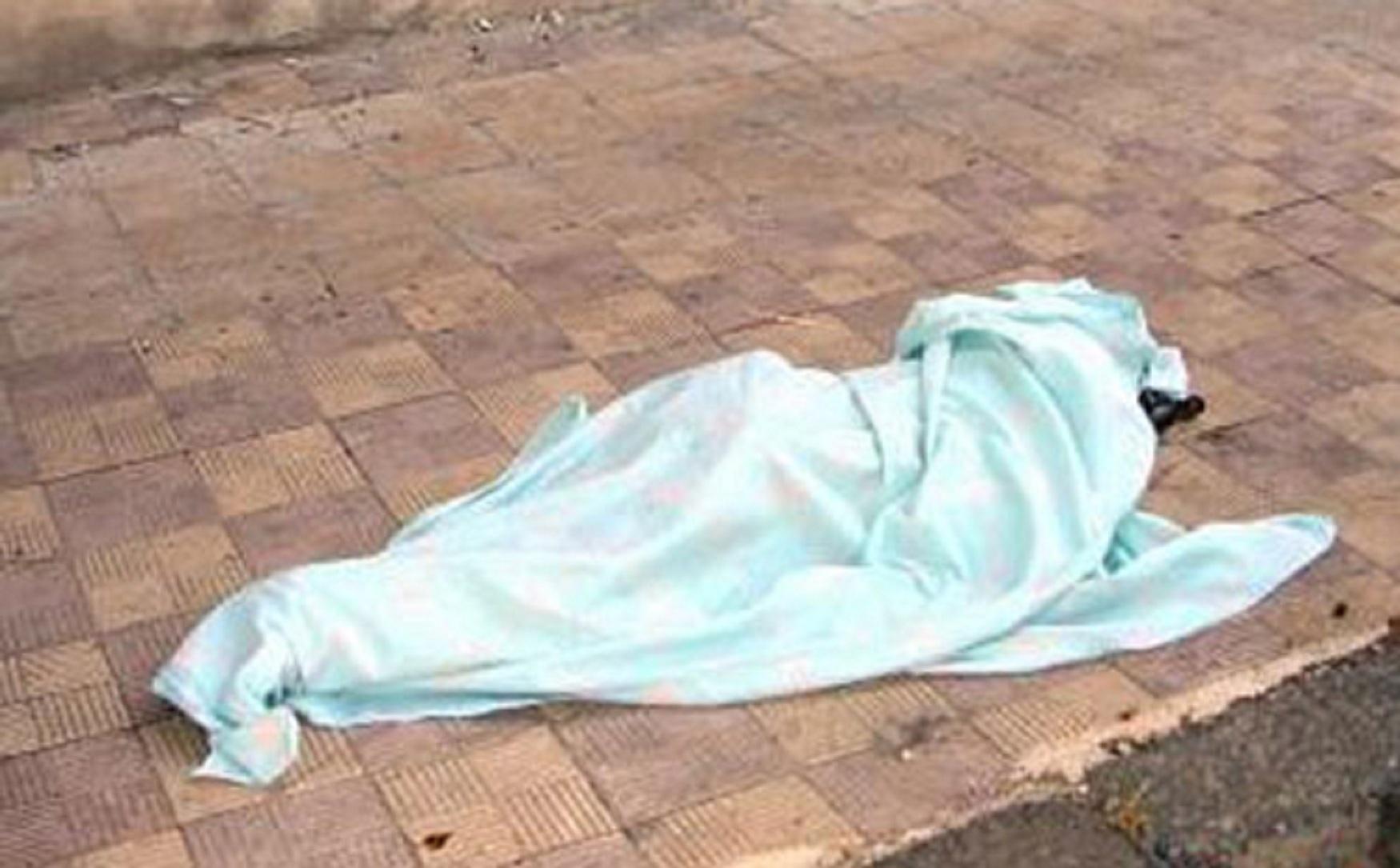 صورة مصرع فتاة إثر سقوطها من الدور الثالث أثناء جمع الغسيل ببلكونة منزلها بالشرقية