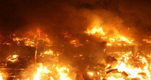 حريق بمدرسة الزقازيق الإعدادية التجريبية