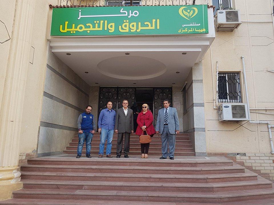 صورة عمدة قرية بديرب نجم يتبرع بـ 100 ألف جنيه لمستشفى الحروق بههيا