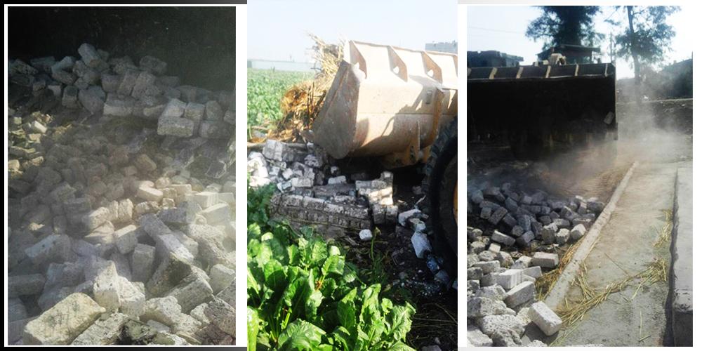 صورة محافظة الشرقية.. حملة إزالة فورية مكبرة بمركز الحسينية