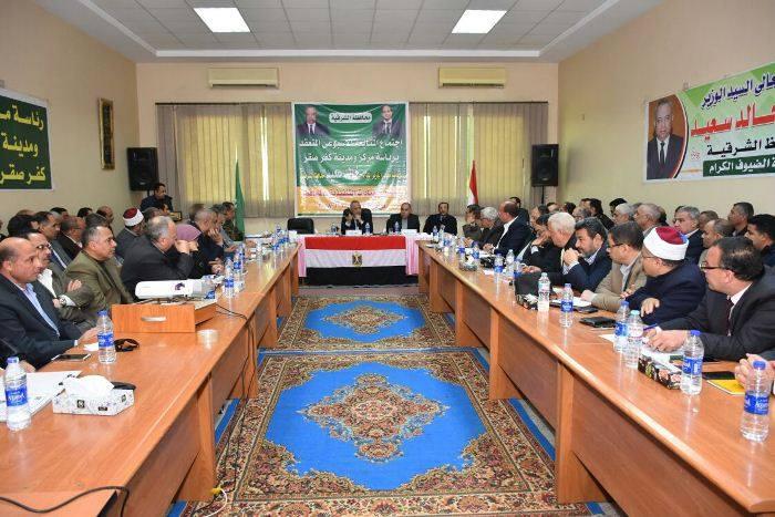 صورة محافظ الشرقية:100 مليون جنيه لاستكمال إنشاء مستشفى كفر صقر