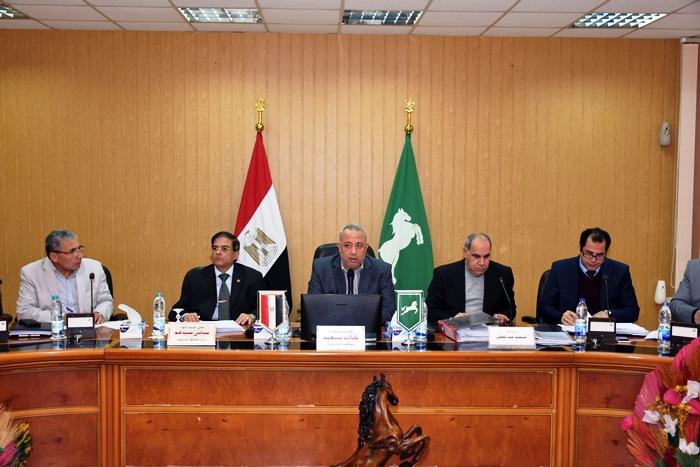 صورة تشكيل مجلس إدارة جديد للمنطقة الصناعية ببلبيس برئاسة محافظ الشرقية