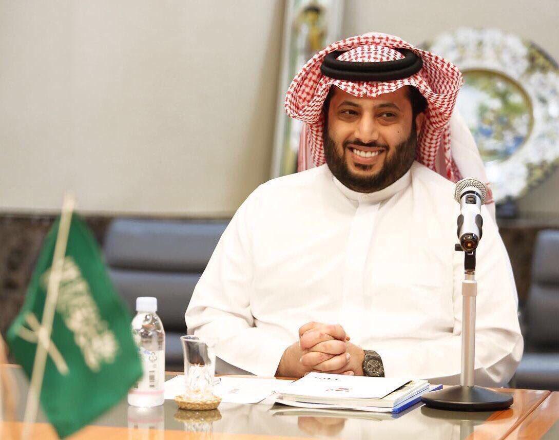 تركي آل الشيخ يوجه رسالة لرئيس الاتحاد السكندري