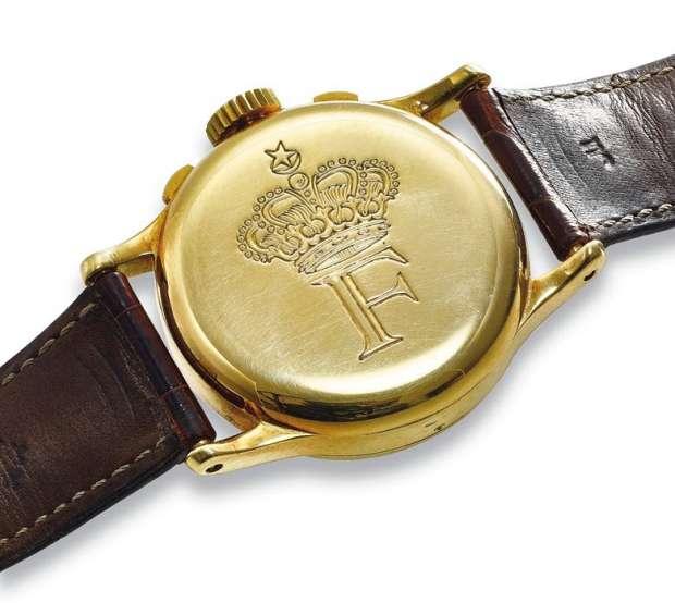 صورة بيع ساعة الملك فاروق بسعر خيالي في دبي