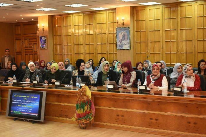 الشرقية يطالب المجلس القومي للمرأة 2