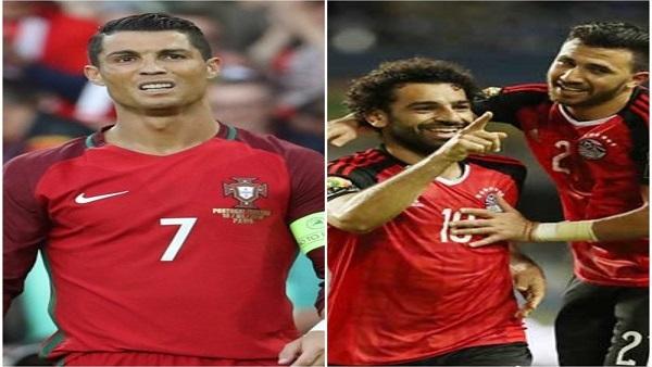صورة الموعد والقنوات الناقلة لمباراة البرتغال ومصر