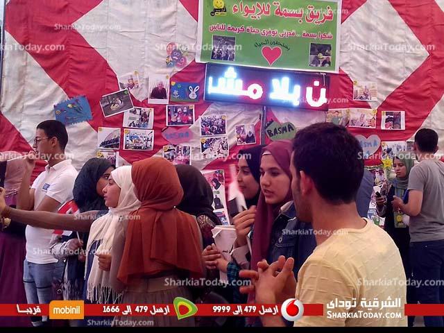 صورة أسرة «شعاع الخير» بتجارة الزقازيق تفتتح ملتقي شباب عطاء مصر الأمل