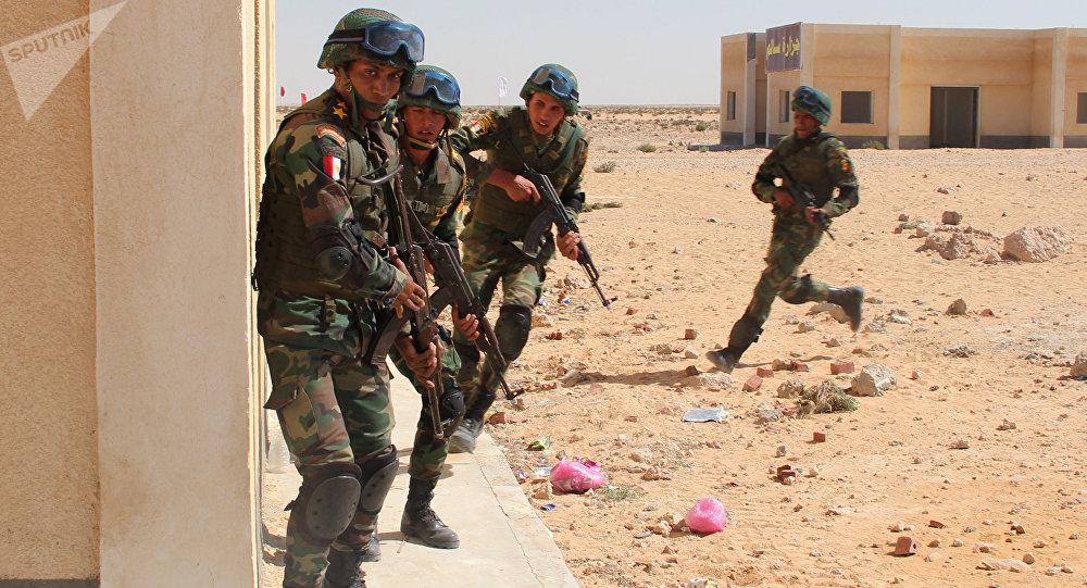 صورة حقيقة تواجد قوات مصرية في سوريا بعد طلب أمريكا