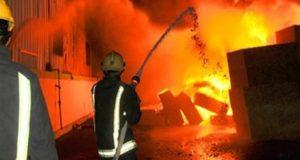 انفجار هائل بمستودع اسطوانات بوتاجاز في أسيوط